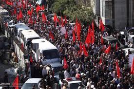 مراسم تشییع سردار همدانی در تهران برگزار شد