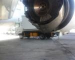 فرود اضطراری بوئینگ در مهرآباد/تصاویر