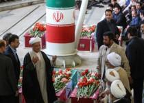 برگزاری مراسم تشییع پیکرهای شهدای فاجعه منا در تهران