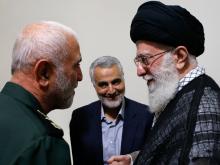 پیام رهبر انقلاب در پی شهادت سردار حسین همدانی