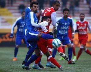 فیلم مسابقه فوتبال تراکتورسازی1-2استقلال