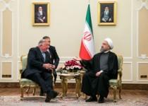 دیدار رئیس جمهور روحانی با رئیس پارلمان فرانسه/تصاویر