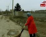 صغری خانی شهرآبادی تنها بانوی رفتگر ایران+تصاویر