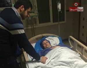 علی ضیا، مجری تلویزیون از مردم خواست تا برای مادرش دعا کنند/عکس