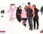 گزارش تصویری برگزاری اولین جشنواره آدم برفی منطقه آزاد ماکو