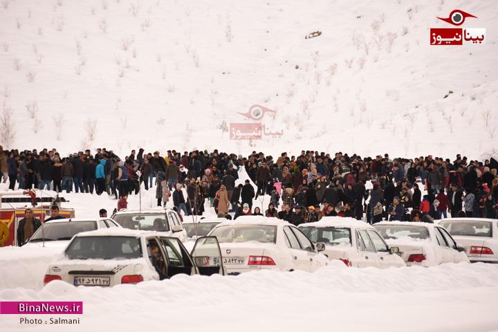 برگزاری اولین جشنواره آدم برفی منطقه آزاد ماکو