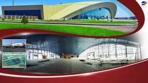 ترمینال اصلی فرودگاه منطقه آزاد ماکو در آستانه افتتاح رسمی