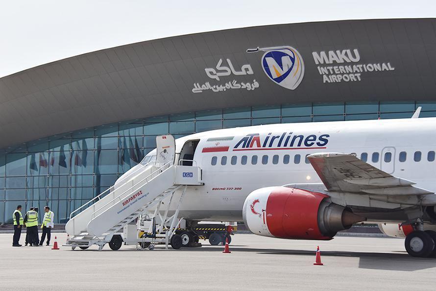 افتتاح ترمینال اصلی فرودگاه بین المللی ماکو همزمان با سفر رئیس جمهور به آذربایجان غربی