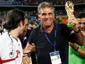 کيروش: قراردادم تا پايان جام جهاني تمديد شد