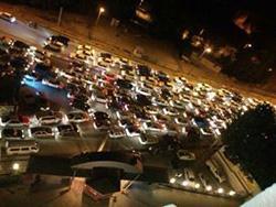 جشن و خوشحالي مردم اورميه بعد از اعلام نتايج انتخابات