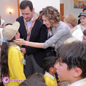 انتشار تصاویر جدید از بشار اسد و همسرش+6عکس