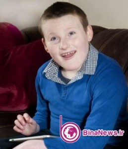 پسری با بیماری خندیدن /عکس