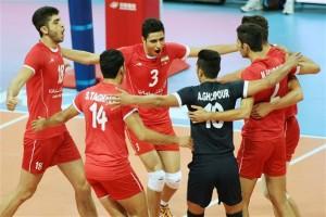 پیروزی مقتدرانه تیم والیبال جوانان ایران در مقابل آرژانتین