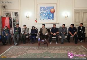 دیدار جمعی از خبرنگاران با سید محمد خاتمی+5عکس