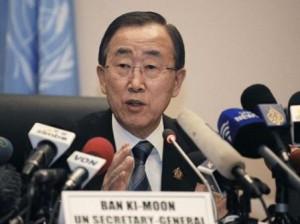 بان کی مون استفاده از سلاحهای شیمیایی در سوریه را تایید کرد