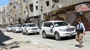 عملیات امحای سلاحهای شیمیایی در سوریه آغاز شد