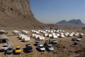 آخرین اخبار از زلزله 4.7 ریشتری نوبران / ایجاد اردوگاه در روستای سنگک