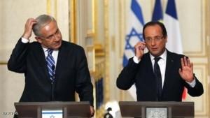 اولاند در تلآویو : حمایت پاریس از اسرائیل نامحدود است