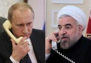 گفتوگوی تلفنی روحانی و پوتین در آستانه مذاکرات ژنو