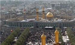 حضور میلیونی و پرشور عزاداران حسینی در کربلای معلی