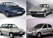آخرین قیمت انواع خودرو در بازار /جدول
