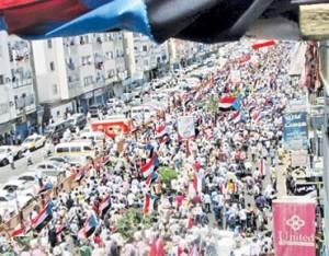راهپیمایی هزاران یمنی برای برکناری دولت