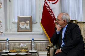 دیدار ظریف با نخست وزیر هند