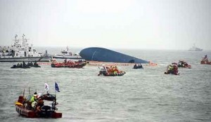 شمار قربانیان کشتی غرق شده کره جنوبی افزایش یافت