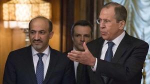 لاوروف خطاب به الجربا:نمیتوانید اسد را از کاخ ریاستجمهوری بیرون کنید