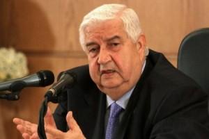 تکذیب خبر فوت وزیر خارجه سوریه