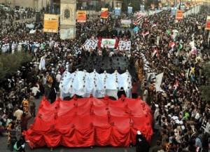 تظاهرات هزاران یمنی برای برکناری دولت