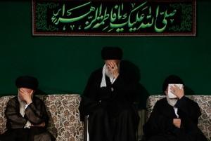 آخرین شب عزاداری فاطمیه در حسینیه امام خمینی(ره) برگزار شد