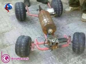 ربات آدمکش داعش!/عکس