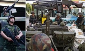 ارتش تایلند حکومت نظامی اعلام کرد