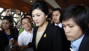 دادگاه قانون اساسی تایلند حکم به برکناری یینگلاک شیناواترا داد