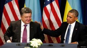 اوباما در دیدار با پوروشنکو: آمریکا برای حمایت از اوکراین آماده است