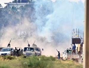 توافق آتشبس میان انقلابیون سابق لیبی و نیروهای حفتر در روز انتخابات
