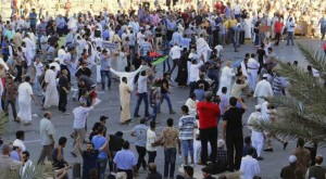 تجمع لیبیاییها در حمایت از خلیفه حفتر