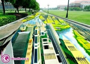 شگفت انگیزترین نقاشی سه بعدی خیابانی در دنیا +عکس