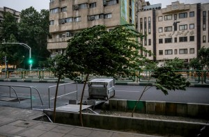 هشدار نسبت به وزش باد شدید در تهران