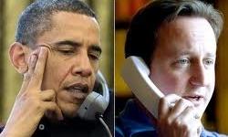 گفتوگوی تلفنی اوباما و کامرون درمورد ایران