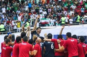 والیبال ایران به نیمه نهایی لیگ جهانی رسید/ایران 3 – برزیل 1