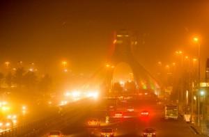 معادن شن و ماسه غرب تهران؛ علت گرد و غبار دیشب