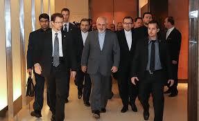 دیدار ظریف با وزیران خارجه آلمان، انگلیس و فرانسه
