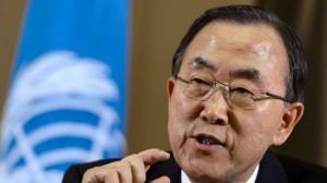 بان کی مون خواهان اجرای تحقیقات بینالمللی علیه رژیمصهیونیستی شد