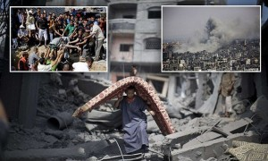 ادامه حملات رژیم صهیونیستی به نوار غزه/ درخواست برای استعفای نتانیاهو