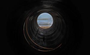 احداث خط لوله از سرزمین آب به سرزمین نفت