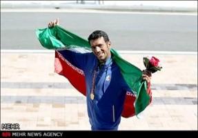 محسن شادی سومین طلایی کاروان ایران