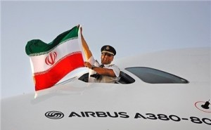 خلبان ایرانی ایرباس A۳۸۰ اخراج نشد