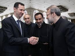 رییس مجلس با بشار اسد دیدار کرد